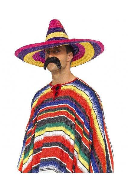 Sombréro - barevné mexické
