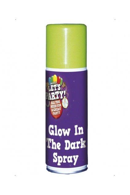 Svítící sprej ve tmě