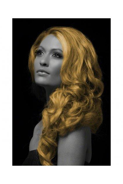 Zlatý sprej na vlasy
