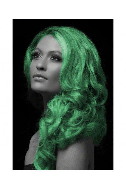 Zelený sprej na vlasy