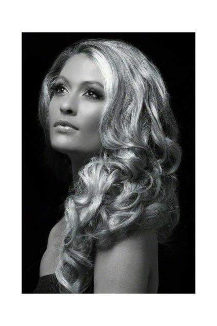 Stříbrná barva na vlasy ve spreji