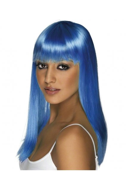 Paruka Glamourama - tmavě modrá