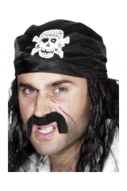 Pirátský šátek - lebka