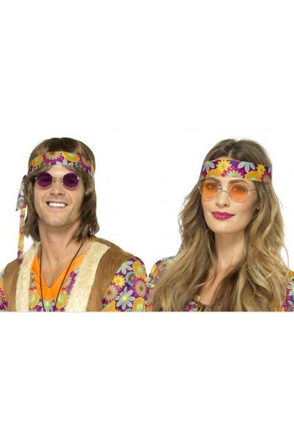 Brýle Hippy kulaté - lenonky