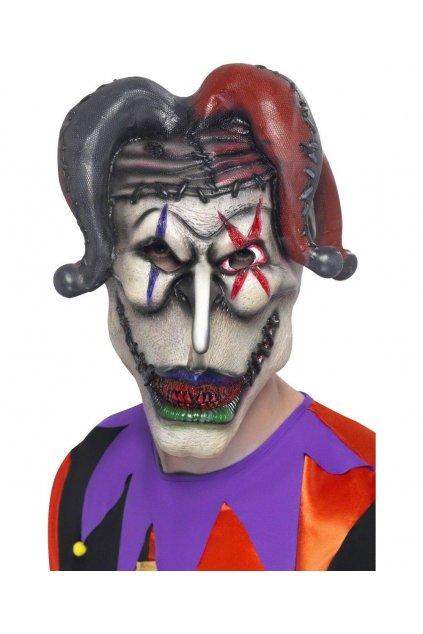 Halloweesnská maska Jester