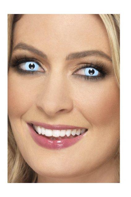 Světle modré kontaktní čočky - Ice Blue