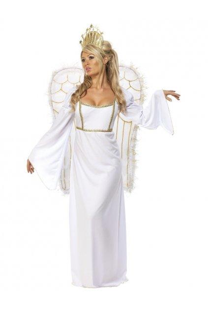 Anděl s velkými křídly - dámský kostým