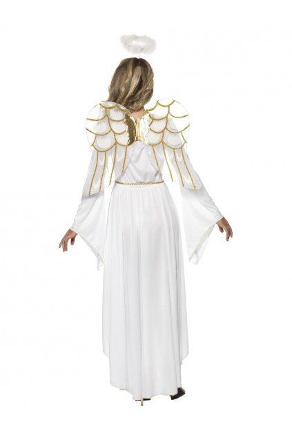 Kostým bílý anděl