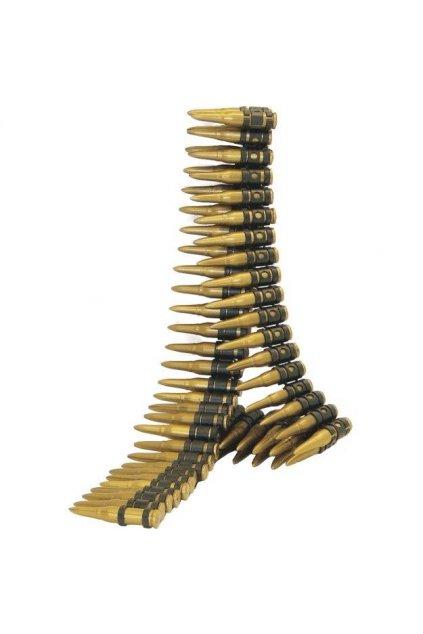 Nábojový pás - 96 nábojů - 150 cm