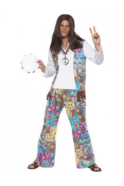 Hippies - pánský kostým