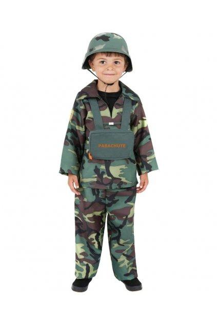 Dětský karnevalový kostým Voják