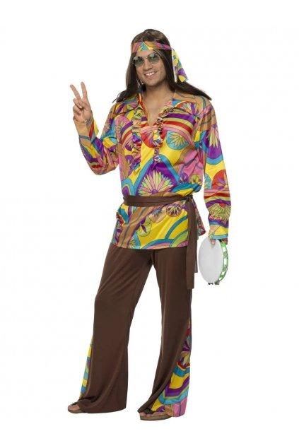 Kostým hippiesáka s čelenkou