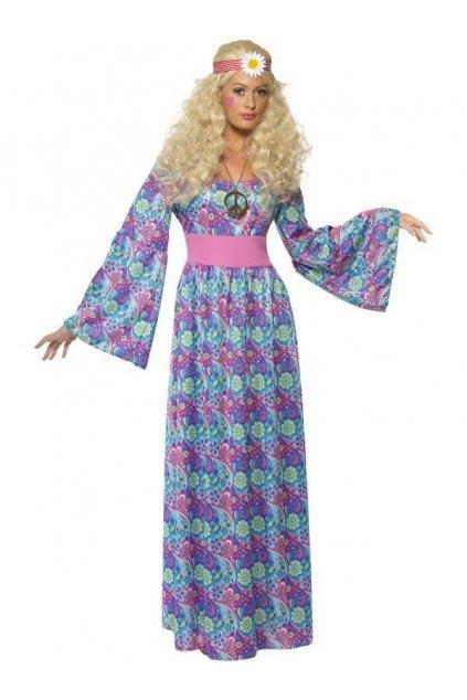 Kostým hippiesačka s dlouhou sukní