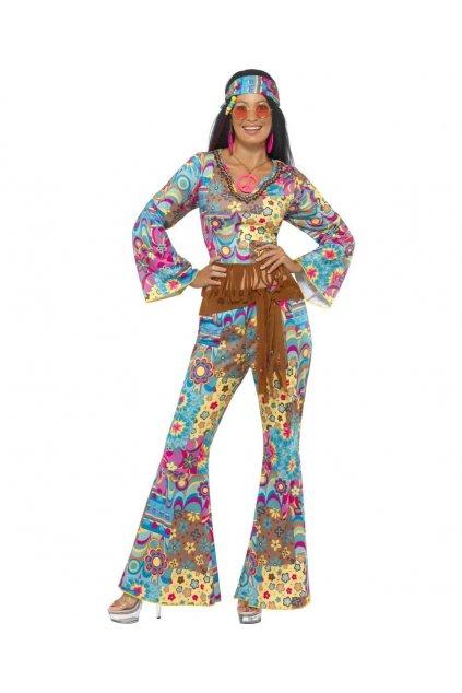 Kostým hippiesačka s kalhotami