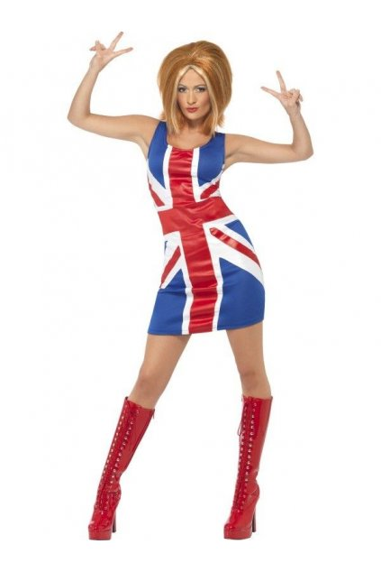Spice Girls kostým Britská vlajka