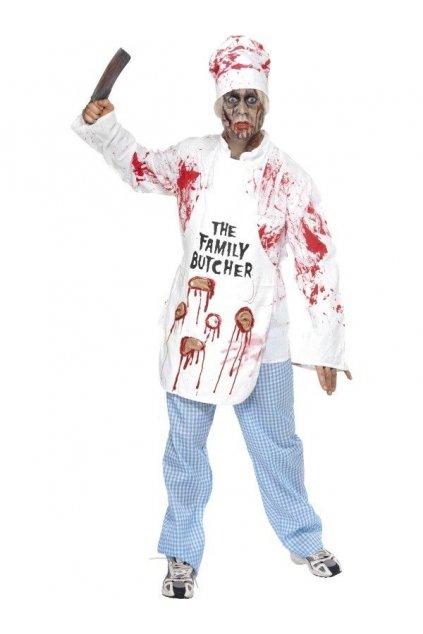 Kostým Zombie kuchař - Halloween