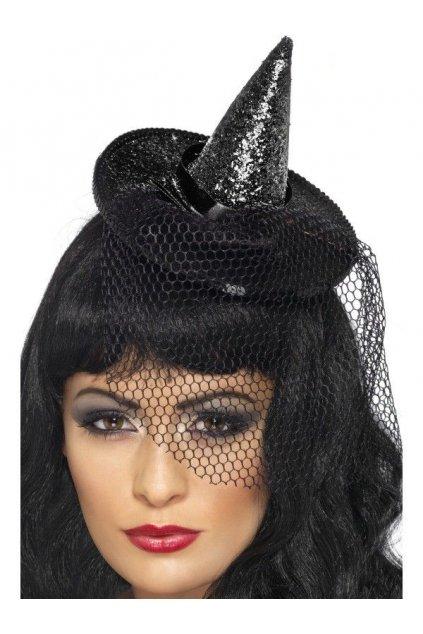 Flitrovaný klobouk pro čarodějnici
