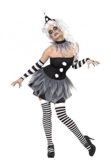Kostým Zombie Pierrot