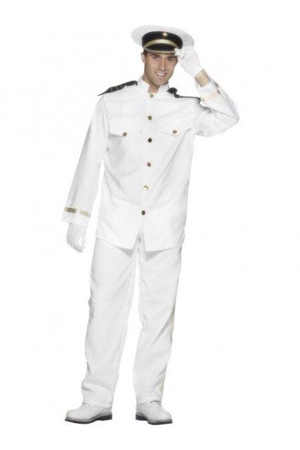 Kostým kapitána bílý