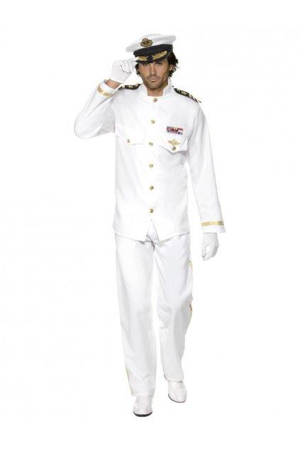Kostým kapitán deluxe