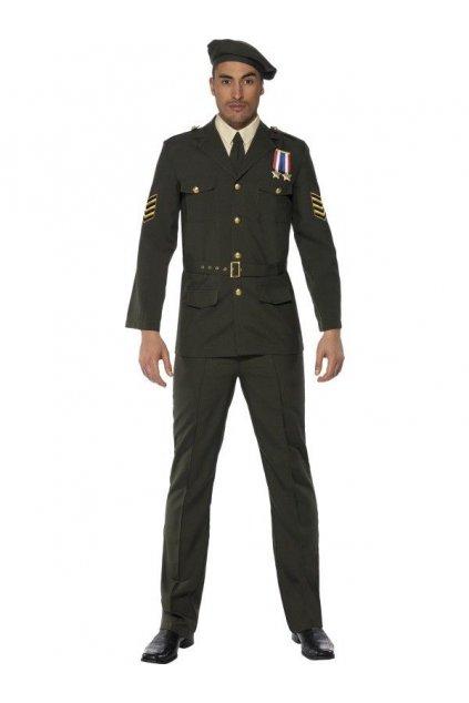Voják důstojník - pánský kostým
