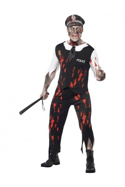 Kostým Zombie policista