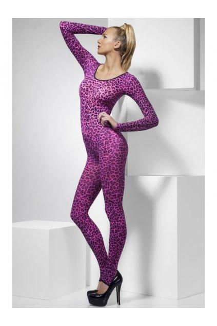Bodysuit Pink Leopard