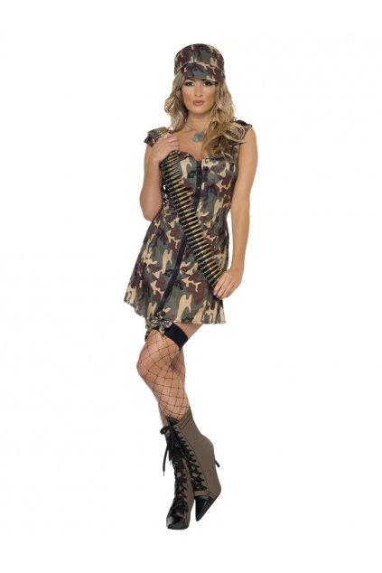 Kostým - Sexy vojanda