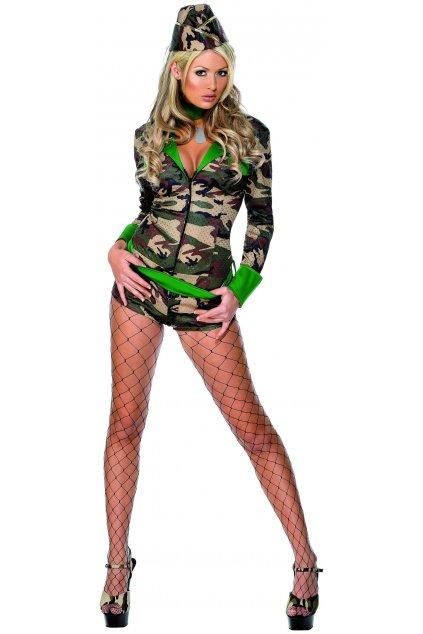 Sexy kostým vojandy