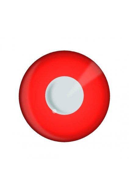 Barevné čočky - červené