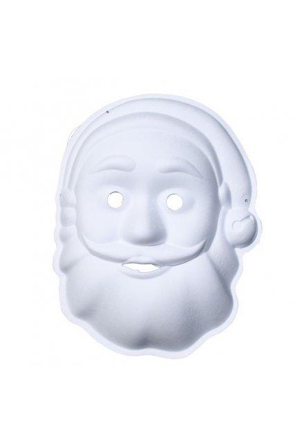 Maska k domalování - Santa
