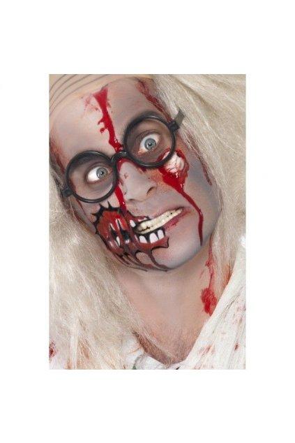 Zombie make up sada