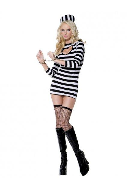 Sexy kostým vězeňkyně