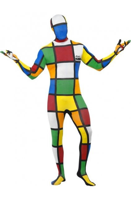 Kostým Rubikova kostka morphsuite
