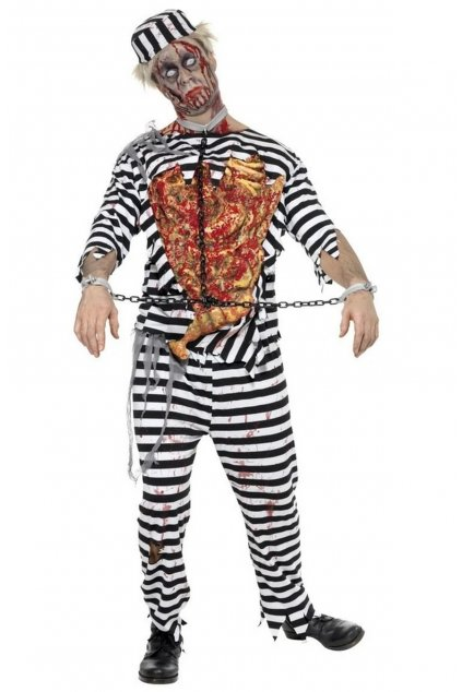 Kostým Zombie Vězeň