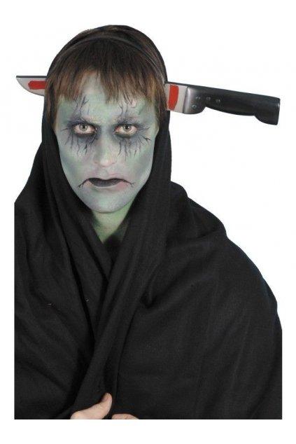 Nůž skrz hlavu