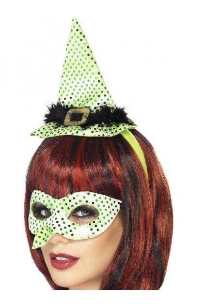 Maska čarodějnice - sada