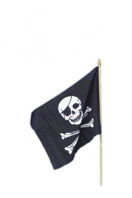 Pirátská vlajka 45x30 cm