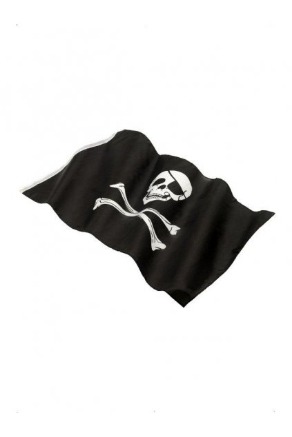 Velká pirátská vlajka 90 x 150 cm