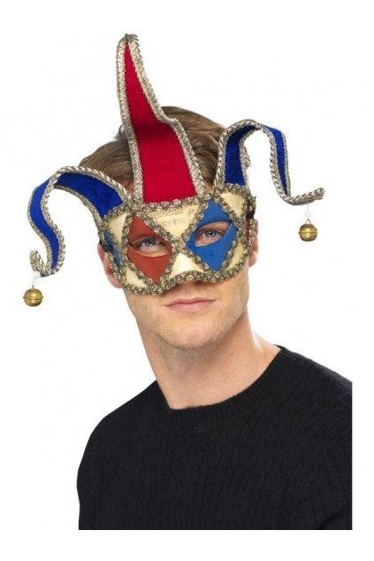 Musical Jester - benátská maska / škraboška