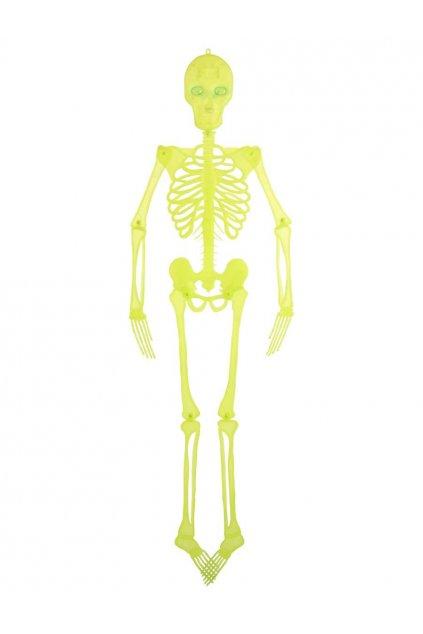 Velký kostlivec 150cm - závěsná dekorace Halloween