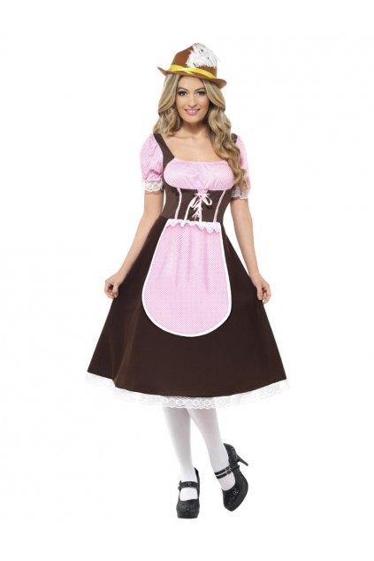 Dámský kostým - Hospodská Oktoberfest