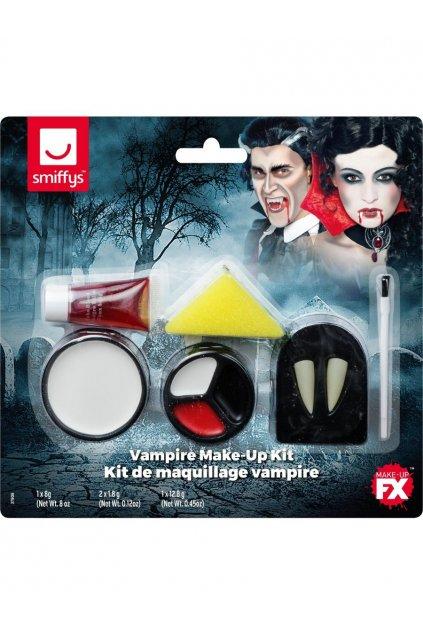 Zuby pro upíra a make-up
