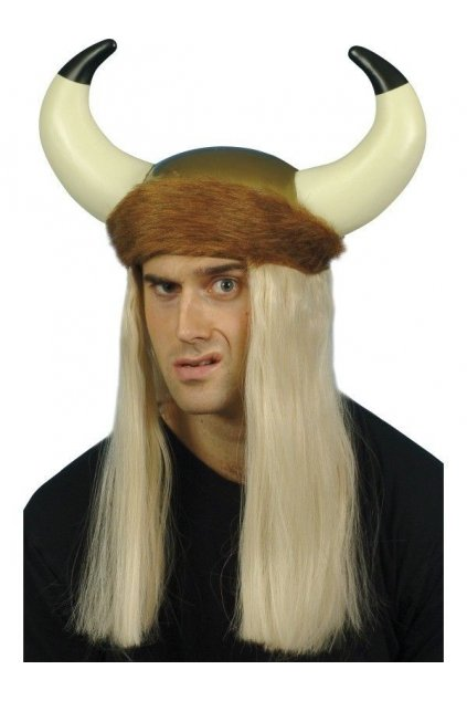 Helma Viking s dlouhými vlasy