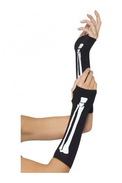 Rukavice kosti bez prstů