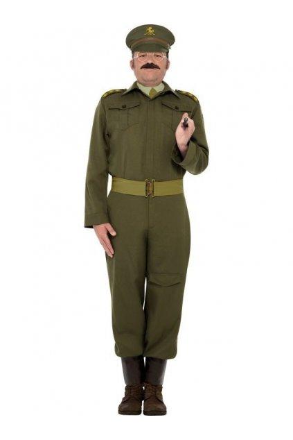 Pánský kostým vojáka - důstojník