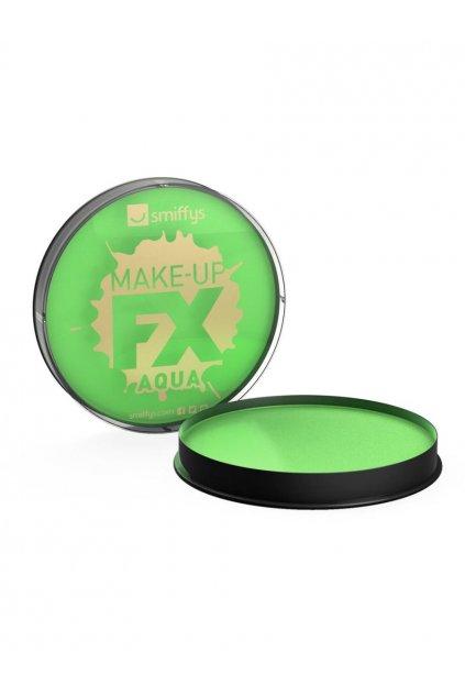 Barva na obličej a tělo - Make-up - světle zelená