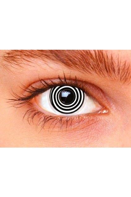 Spirála - kontaktní čočky barevné