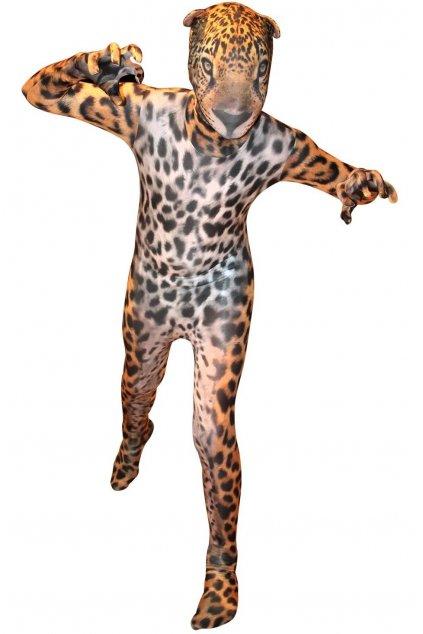 Kostým Jaguara - morphsuit