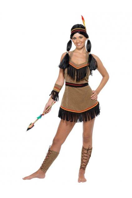 Indiánka - dámský kostým